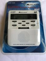 New Midland WR100 Weather Radio (Discontinued by Manufacturer)fast Shipping