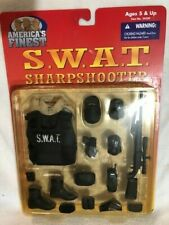 """America's Finest 12"""" 1/6 Scale SWAT Sharpshooter Vest/Weapons Pack 21st Century"""