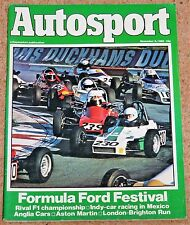Autosport 6/11/80* FORMULA FORD FESTIVAL - ASTON MARTIN the GREAT YEARS