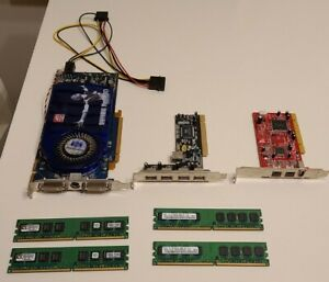 ATI RADEON SAPPHIRE X1950 PRO GRAPHICS CARD, 4GB RAM and more