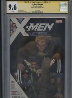 X-Men: Blue #5 CGC 9.6 SS Art Adams 2017