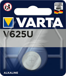 2 x Varta V 625 U LR9 625 EPX625 4646 1,5V Knopfzelle Batterie Auto Alkaline