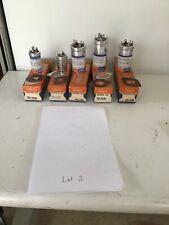 Sprague Lot Of 5 Nos Capacitors Tvl-2750,1426, 2444,1423, & 3787 Lot 2
