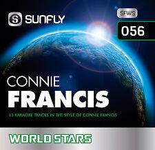 CONNIE FRANCIS SUNFLY KARAOKE CD+G