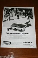 BG1=1972=HITACHI REGISTRATORE CASSETTE STEREO=PUBBLICITA'=ADVERTISING=WERBUNG=