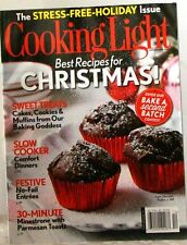 Cooking Light BEST Recipes for STRESS-Free CHRISTMAS Magazine SLOW COOKER Treats