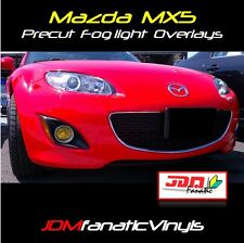 09-12 Mazda Miata MX5 Fog light Yellow Overlays TINT Film Vinyl JDM PRECUT MX-5