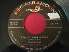 RARE PRESS 45 - BRIAN HYLAND - SEALED WITH A KISS - ABC 60