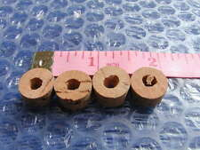 4 authentic PUSH/PULL PETROL TAP CORKS flat cork washers-ewarts type fuel taps