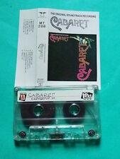 ►►Rare Polish cassette Cabaret SOUNDTRACK John Kander Fred Ebb POLAND mc tape