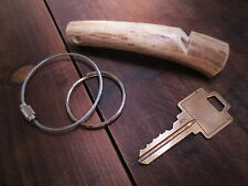 Deer Antler Whistle w/ Key Ring Bird Dog Training NICE!