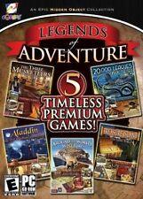 5 NEW PC Legends Of Adventure: Aladdin+Treasure Island+Three Musketeers + MORE