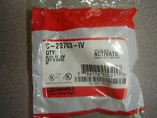 Lot of 10 C-20703-IV RJ11 PHONE INSERT KEYSTONE Punchdown Wallplate Plug Ivory