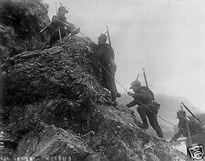 "Italian Army Alpine Troops 1915 World War 1, 5x4"" reprint photo"