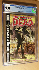 The Walking Dead #1 Image Firsts 2011 Edition Tony Moore Cover CGC 9.8 NM+/M