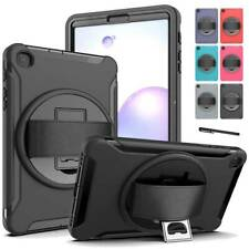 For Samsung Galaxy Tab A 8.4 T307U Shockproof Rubber Hard Armor Stand Case Cover