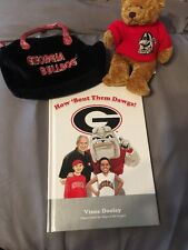 Georgia Bulldog Gift Set For The Little Dog Fans