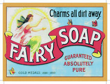 Fairy Soap Vintage Style Metal Wall Sign Plaque Art 15X20cm