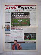Orig.PRG   AUDI Cup 2011  in München 27.07. - 3.Platz Spiel + FINALE  !!  SELTEN