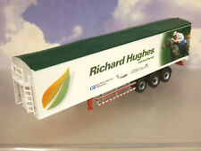 OXFORD DIECAST 1/76 EDDIE STOBART WALKING FLOOR BIOMASS 3 AXLE TRAILER PX15 JHK
