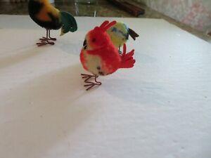 "Vintage STEIFF BIRD w/no tag.-2 3/4"" tall x 2 1/2"" across. Metal Legs."