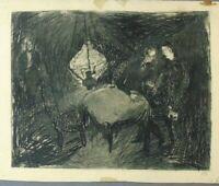 "Rudolf Rothe ""Illustration nach Dostojewski"" Radierung/Aquatinta 28.04.1950"