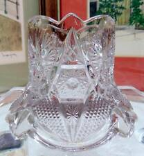 "EAPG US GLASS CRYSTAL REGAL PATTERN FLARED BASE 2 5/8"" TOOTHPICK 1906"