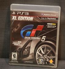 Gran Turismo 5 XL Edition (Sony PlayStation 3, 2012) PS3 Video Games