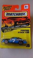1994 MATCHBOX SUPER FAST  PONTIAC STOCK CAR