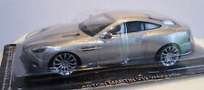 Aston Martin V12 Vanquish Coupe 1/43 Scale Silver Metallic -New Bubble Pack EF16
