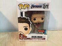 FUNKO POP VINYL IRON MAN W/ INFINITY GAUNTLET NYCC 2019 Exclusive C9+