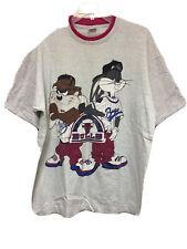 Vintage Men's Fruit of the Loom T-Shirt Chicago Bulls Looney Tunes