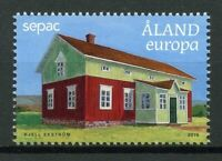 Aland 2019 MNH Old Residential Buildings SEPAC 1v Set Architecture Stamps