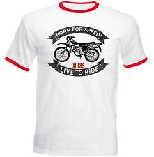 HONDA XL 185-Nuova T-shirt Cotone-Tutte le taglie in magazzino