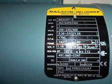 Baldor Reliance  FO802222267   BM3546T-S  208-230/460  1750rpm  1hp 60hz 3PH