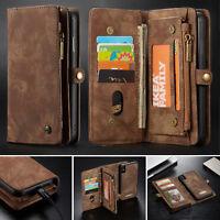 Multifunktion Handyhülle Für iPhone XS XR XS Max Case Schutz Tasche Wallet Cover