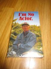Brand NEW I'm No Actor Winston Promo VHS Tape