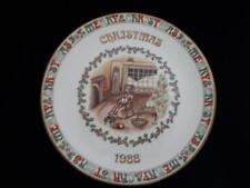 ROYAL GRAFTON CHRISTMAS PLATE 1988