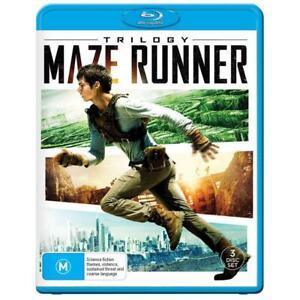 MAZE RUNNER TRILOGY Blu-ray (Region B) Scorch Trials Death Cure