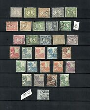 Nethehrlands - India COLLECTION USED Postage DUE old STAMPS LOT (NETHER 552)