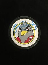 LARRY GOODENOUGH AUTOGRAPHED RICHMOND ROBINS PUCK W/COA