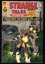 Strange Tales #138 First Eternity Appearance, Doctor Strange/Nick Fury Sharp!