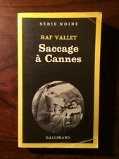 SERIE NOIRE N°1854/RAF VALLET/SACCAGE A CANNES 1981 EO