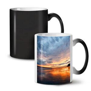 Deep Sea Sunset NEW Colour Changing Tea Coffee Mug 11 oz | Wellcoda