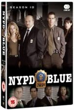 NYPD Blue Complete Season 10 Series Ten Tenth Region 2 DVD