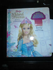 NEW Barbie as Island Princess A Story of Adventure by J Katschke +  Hair Comb