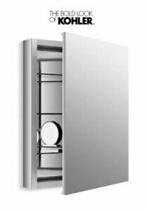 KOHLER K-99007-NA Verdera 24-Inch By 30-Inch Slow-Close Medicine Cabinet