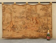 Vintage French Beautiful Romantic Scene Tapestry 141x94cm (A1217)