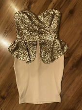 Lipsy Dress With Sequin, Brand New Size 8 UK.