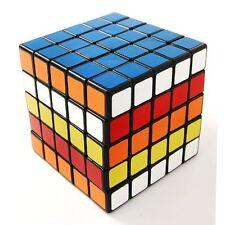 Shengshou 5x5x5 6.5cm Magic Cube 5x5 Speed Cube Ultra-smooth Puzzle Twist Black